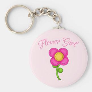 Flower Girl Key Chains