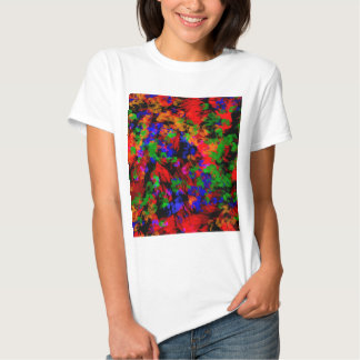 Flower Girl Lost In The Woods - Colourful Abstract Shirts