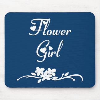 Flower Girl Mouse Mat
