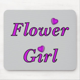 Flower Girl Mouse Pad