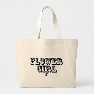 Flower Girl - Old West Jumbo Tote Bag