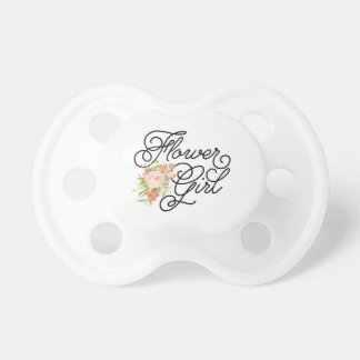 Flower Girl Pacifier | Bridesmaid