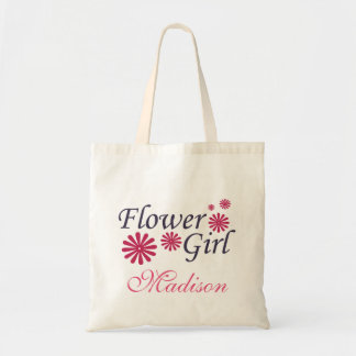 Flower Girl Personalized Tote Bag