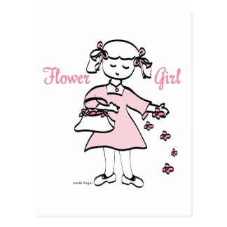 Flower Girl Post Cards
