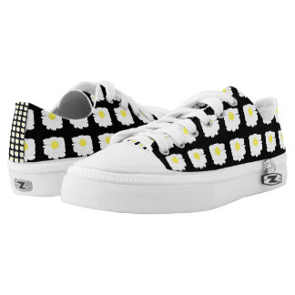 Flower Girl Printed Shoes