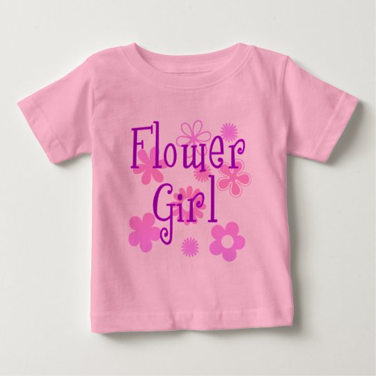 Flower Girl Products Baby T-Shirt