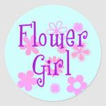 Flower Girl Products Classic Round Sticker