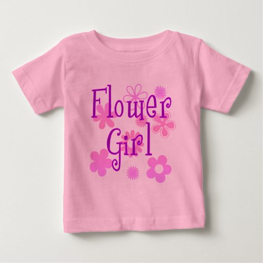 Flower Girl Products T-shirts