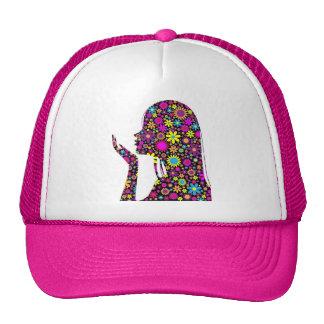 FLOWER GIRL SILHOUETTE CAP