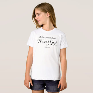 """FLOWER GIRL"" T-Shirt from Complete Bridal Set"