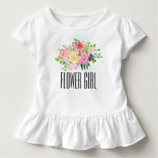 Flower Girl Toddler Tee Kids Flower Girl T-shirt