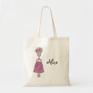 Flower Girl Tote Bag - Personalize Alice