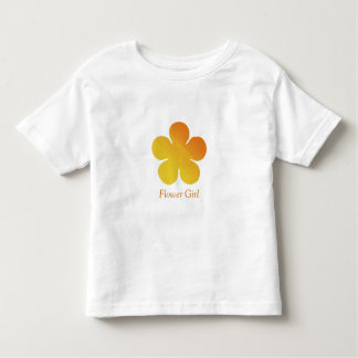Flower Girl/Wedding Information T-shirt