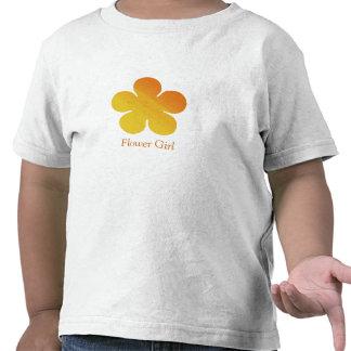 Flower Girl/Wedding Information T-shirt