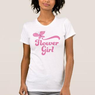 Flower Girl Wedding Party Tshirt