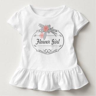 Flower Girl Wedding T Shirt