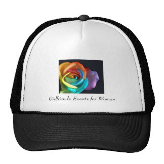 flower, Girlfriends Events for Woman Cap
