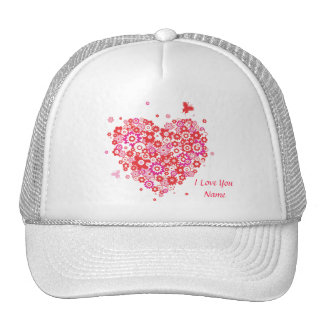 Flower Heart 1 Hat