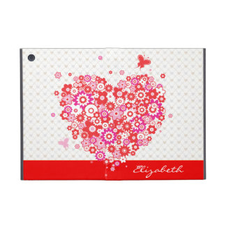 Flower Heart 1 Powiscase Options Cover For iPad Mini