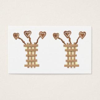 Flower Heart Business Cards