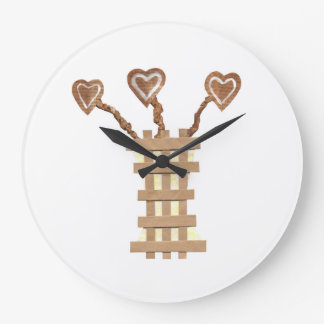 Flower Heart Clock