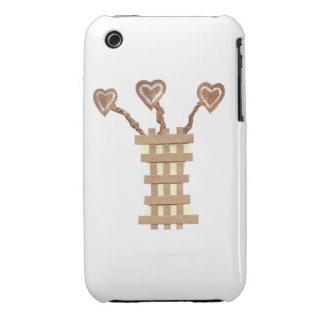 Flower Heart I-Phone 3G/3GS Case