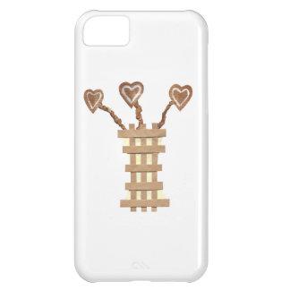 Flower Heart I-Phone 5C Case