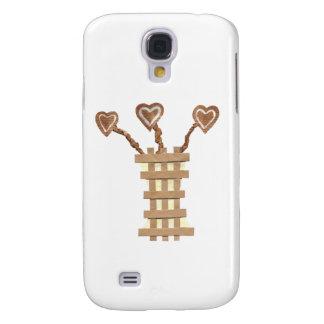 Flower Heart Samsung Galaxy S4 Case