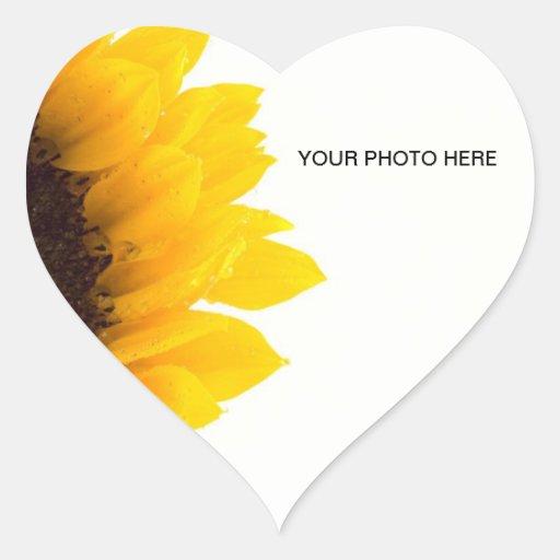 Flower Heart Sticker