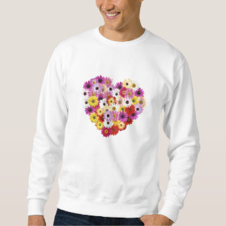 Flower Heart Sweatshirt