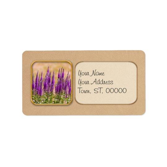 Flower - I dream of lavender Label