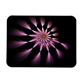 Flower I - Fractal Art Flexible Magnet