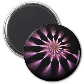 Flower I - Fractal Art Magnet
