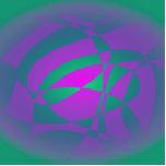 Flower Ideas Green Purple Photo Cutout