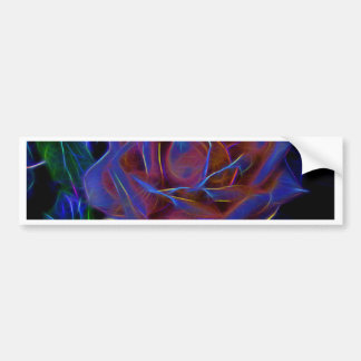 Flower Image manipulated for artistic effect (2).j Bumper Sticker