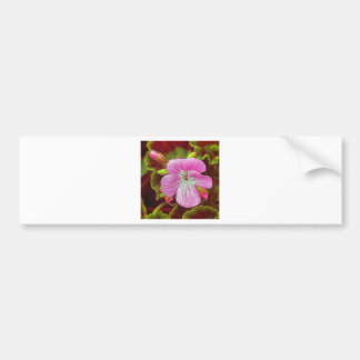 Flower Image manipulated for artistic effect (3).J Bumper Sticker