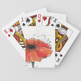 Flower in Full Bloom Playing Cards