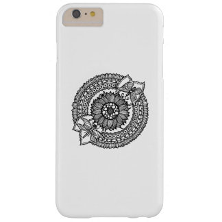 Flower In Mandala Barely There iPhone 6 Plus Case