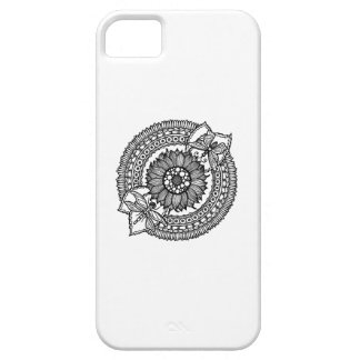 Flower In Mandala Case For The iPhone 5