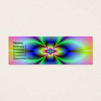 Flower in Neon Card