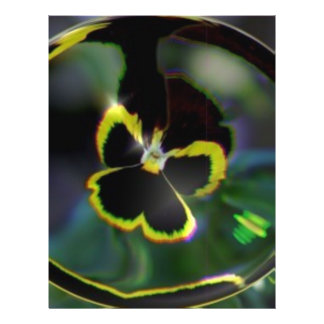 flower in raindrop flyers