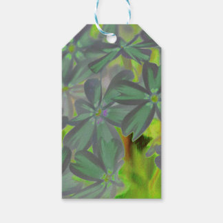 flower in spring gift tags