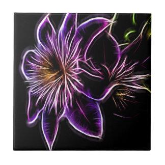 flower in spring tile