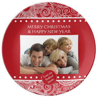 Flower jungle Xmas Stationary and gifts Plate