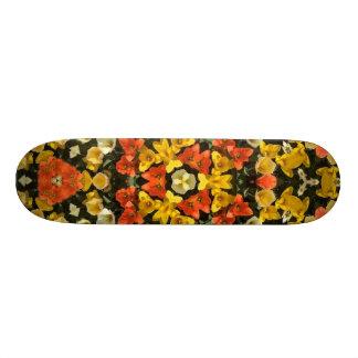 flower kaleido skate board