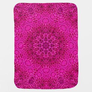 Flower Kaleidoscope  Baby Blankets