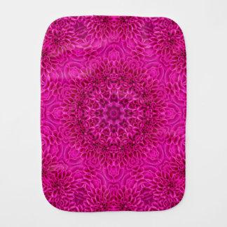 Flower Kaleidoscope Burp Cloth