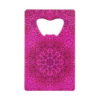 Flower Kaleidoscope   Credit Card Openers