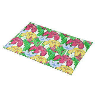 Flower kirchen design. placemat