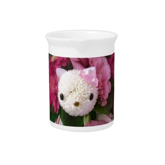 Flower Kitty Pitcher